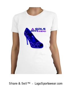 Alternative Ladies Basic Crew Neck Tee Design Zoom